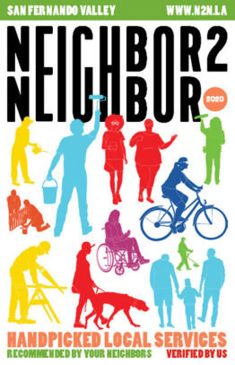 Neighbor2Neighbor 2020 San Fernando Valley Edition print handbook