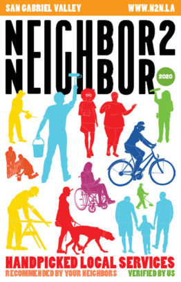 Neighbor2Neighbor 2020 San Gabriel Valley Edition print handbook