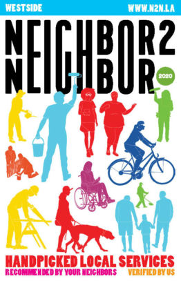 Neighbor2Neighbor 2020 Westside Edition print handbook