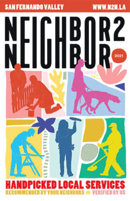 Neighbor2Neighbor 2021 San Fernando Valley Edition print handbook