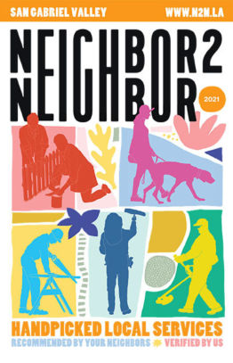 Neighbor2Neighbor 2021 San Gabriel Valley Edition print handbook