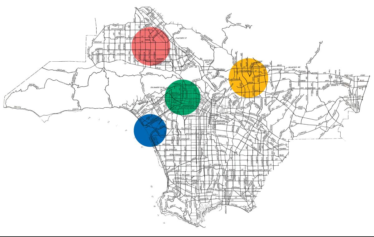 Neighbor2Neighbor's distribution regions map