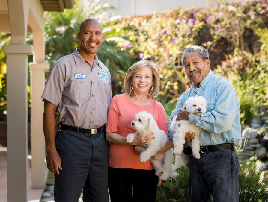 Volunteers at Friends Foster Children San Gabriel Valley with young kids