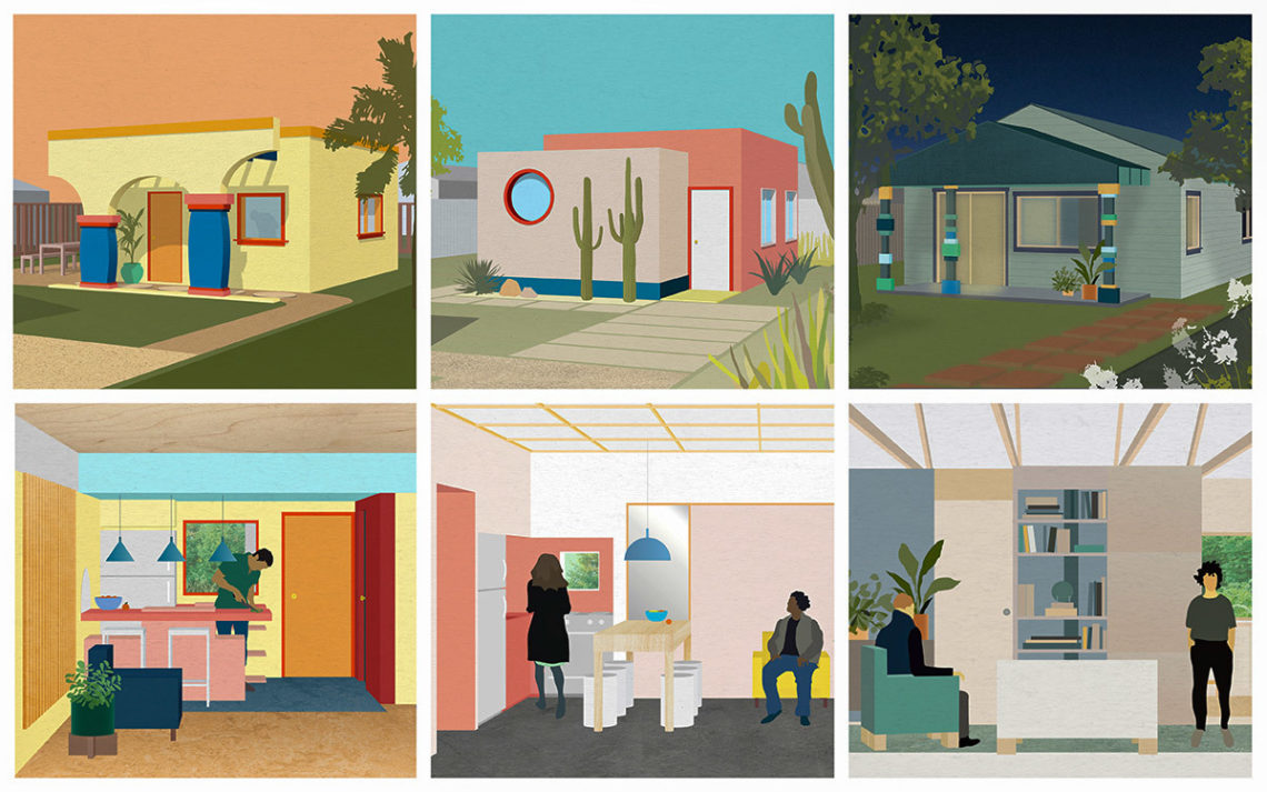 Accessory Dwelling Unit illustrations