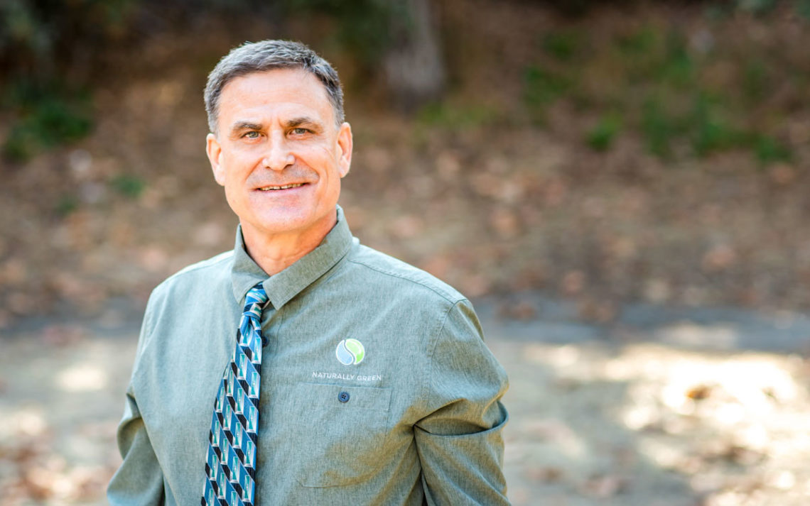 Bryan Angstman, owner of Naturally Green
