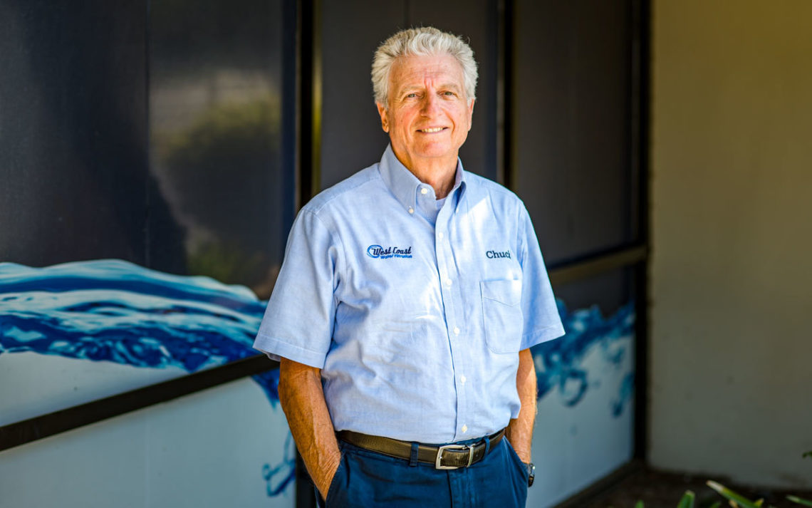 Chuck Wohlberg, owner of West Coast Water Filtration.