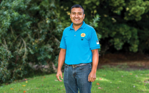 Manuel Morales, owner of A First Electric Service.