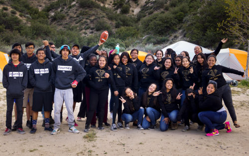 Inner city kids enjoy a day at the beach on a field trip wtih A Place Called Home.