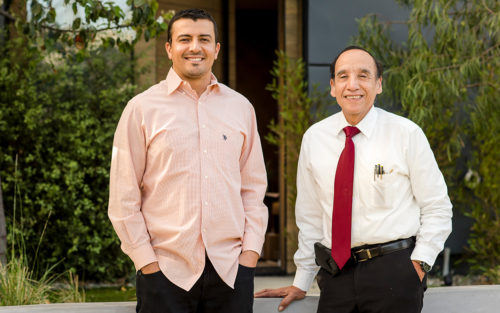 General contractor David Mor and architect Rafael S Dieppa of Keter Construction and Development, Inc.