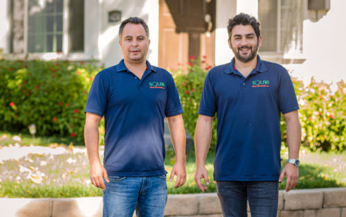 Ariel Yemini and Yoan Zagury, owners of Solar Price Discovery